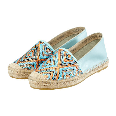 Cute Couture Slipper, zweifarbig, Ethno-Look