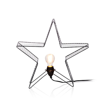 MARKSLÖJD Dekorationsleuchte Stern Holger, offen beleuchtet, skandinavisch, Metall