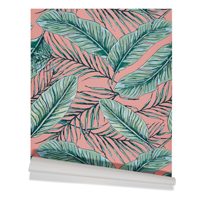IMPRESSIONEN living Tapete Blätter, selbstklebend, modern, Vinyl