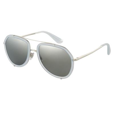 DOLCE GABBANA Sonnenbrille, Pilotenform, verspiegelte Gläser, edel