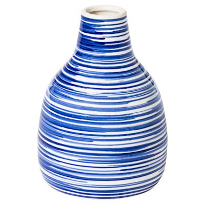 miaVILLA Vase Breeze, Maritimer Look, Keramik
