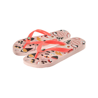 havaianas Sandale, mehrfarbig, Sushi-Print