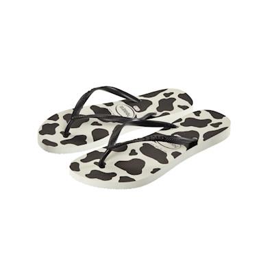 havaianas Sandale, Animal-Look, zweifarbig