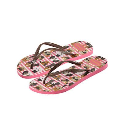 havaianas Sandale, Tier-Motiv, mehrfarbig