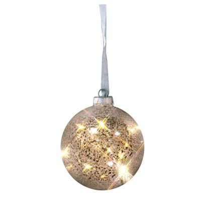 miaVILLA LED-Dekokugel Argent