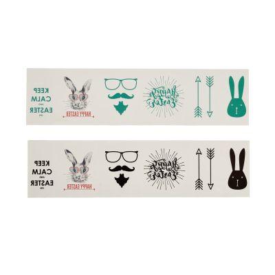 IMPRESSIONEN living Tattoo-Set, 12tlg., Ostern