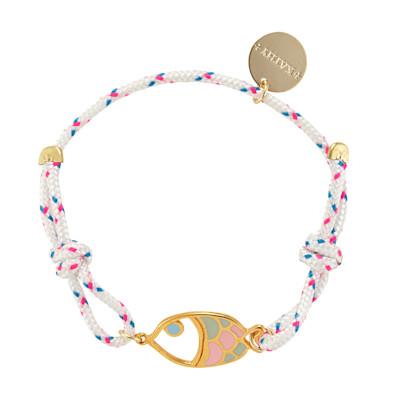 KATHY Armband, Fischanhänger, Maritimer Look