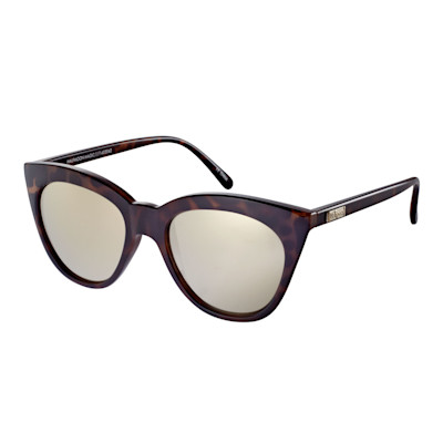 Le Specs Sonnenbrille, Cateye, verspiegelt, Retro-Look