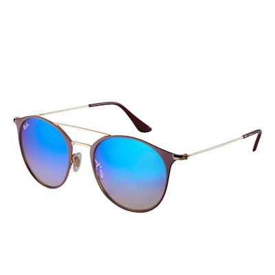Ray Ban® Sonnenbrille, Spiegelgläser, Farbverlauf