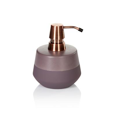 Aquanova Seifenspender, Soft-Touch-Beschichtung, edel, Keramik, Edelstahl