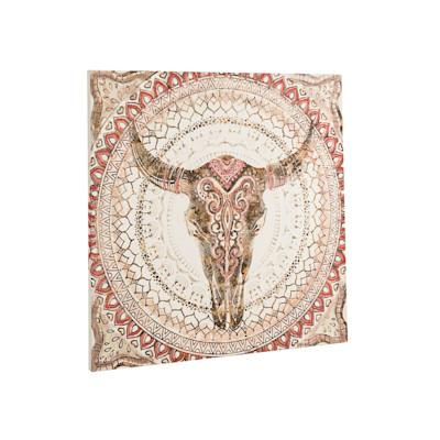 Bild Bull, Kunstdruck, Leinwand, ca. 80 x 80cm