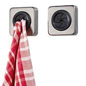 Handtuchhalter, 2-tlg., selbstklebend Vorderansicht
