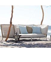Outdoor-Sofa, inkl.Kissen, Kunststoffgeflecht Katalogbild