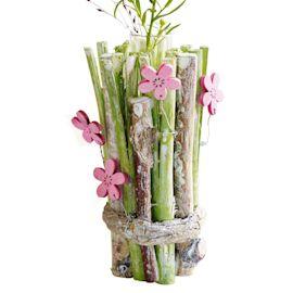 Mini-Vase, Frühlingswiese, Birkenäs...