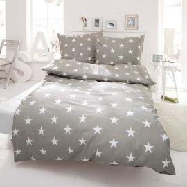 Bettwäsche, Sterne, mit Reißverschl...