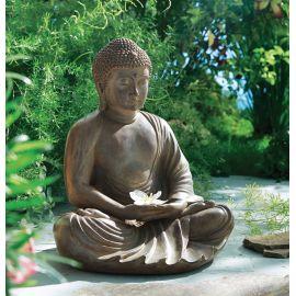 Dekofigur Buddha Meditas