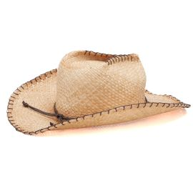 SEEBERGER - Cowboyhut, Stroh