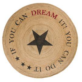 Teppich Dream, mit Sternmotiv und S...