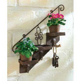 Pflanztopfhalter, Treppe