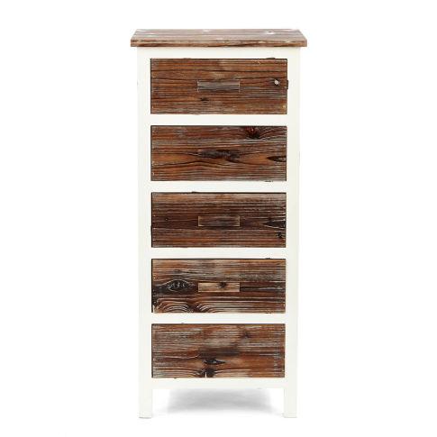 kommode atlanta 5 schubladen landhausstil kommoden m bel wohnen. Black Bedroom Furniture Sets. Home Design Ideas