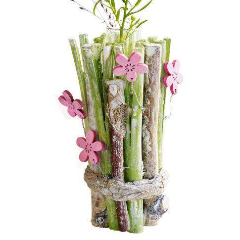 mini vase fr hlingswiese birken ste glas ca h11 cm. Black Bedroom Furniture Sets. Home Design Ideas