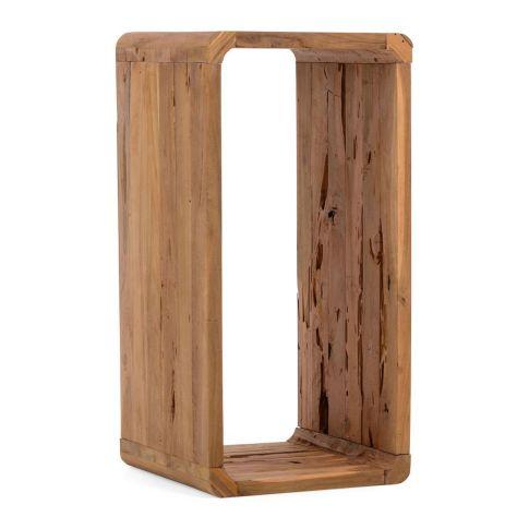 regal woody 2 gr en teakholz regale wohnen. Black Bedroom Furniture Sets. Home Design Ideas
