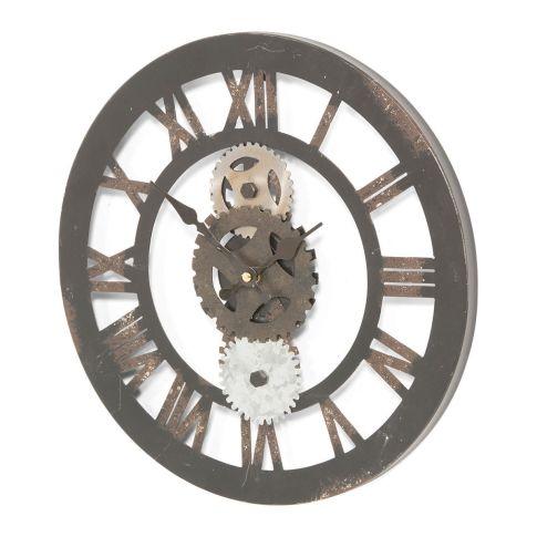 Wanduhr zahnrad metall uhren dekoration - Originelle wanduhr ...