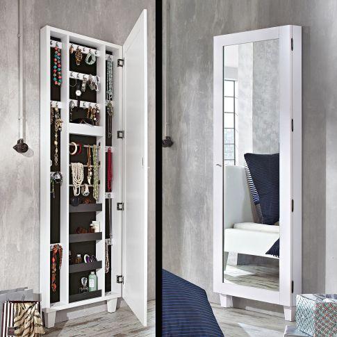 schmuckschrank big spiegelglas schmuckaufbewahrung bad. Black Bedroom Furniture Sets. Home Design Ideas