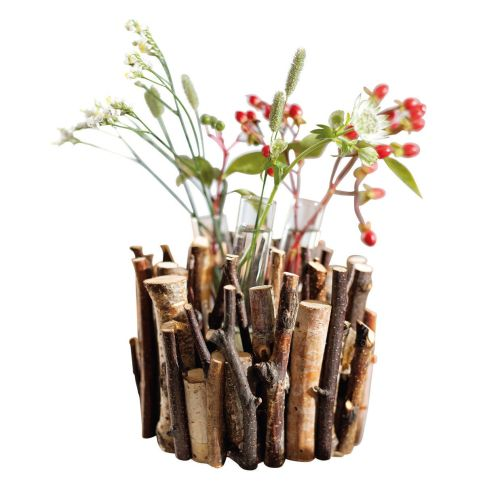 minivase birkenwald birkenholz glas ca h12 cm vasen pflanzenwelt wohnen. Black Bedroom Furniture Sets. Home Design Ideas
