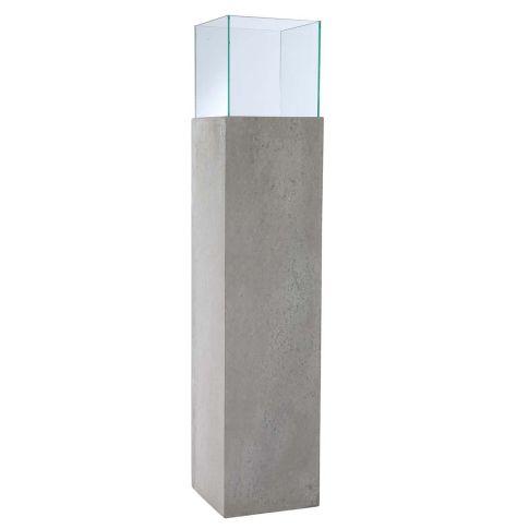 Windlichts ule beton optik windlichter kerzenleuchter for Beton dekoration
