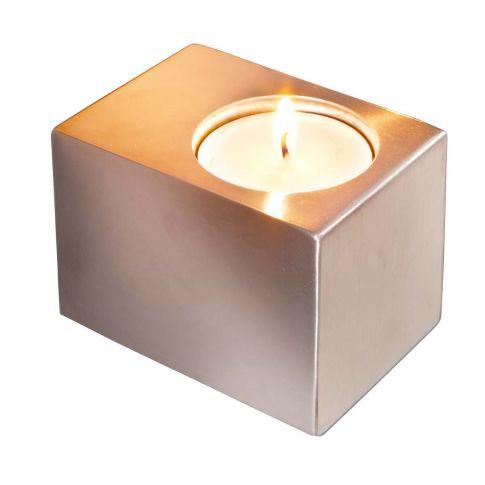 wand teelichthalter cube wandkerzenhalter deko. Black Bedroom Furniture Sets. Home Design Ideas