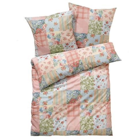 bettw sche memories rei verschluss patchwork baumwolle bettw sche wohntextilien wohnen. Black Bedroom Furniture Sets. Home Design Ideas