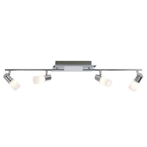 Led balken inkl 4x5w led l nge variabel einstellbar for Deckenleuchte led balken