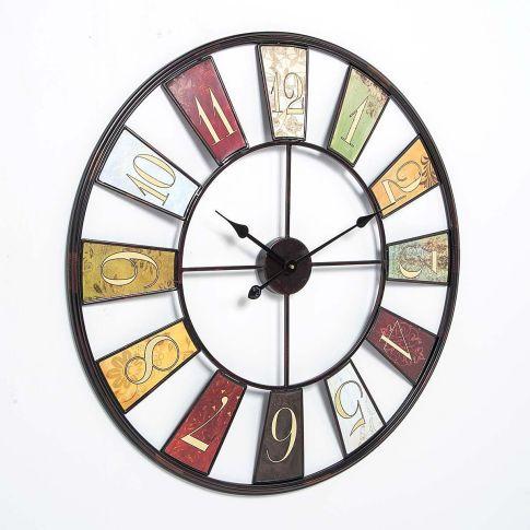 wanduhr wheel 80 cm wanduhren deko wohnen. Black Bedroom Furniture Sets. Home Design Ideas