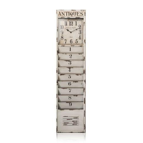 zeitschriftenhalter antikfinish metall glas ordnen alltagshelfer haushalt. Black Bedroom Furniture Sets. Home Design Ideas