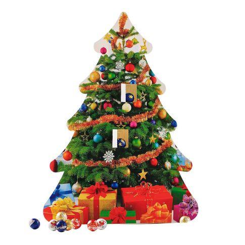 schoko adventskalender weihnachtsbaum schokolade. Black Bedroom Furniture Sets. Home Design Ideas