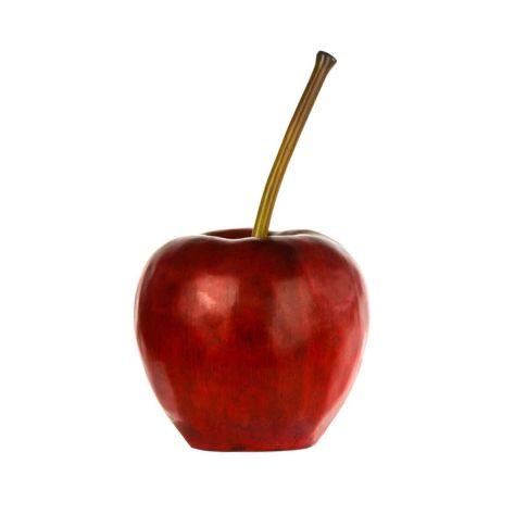 Deko objekt roter apfel figuren dekoration for Apfel dekoration