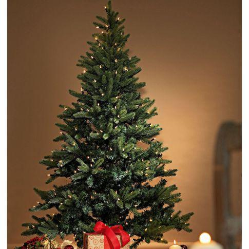 Beleuchteter tannenbaum mittel kunststoff metall for Beleuchteter tannenbaum