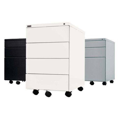 rollcontainer 3 mit 3 schubladen abschliessbar b roschr nke b ro. Black Bedroom Furniture Sets. Home Design Ideas