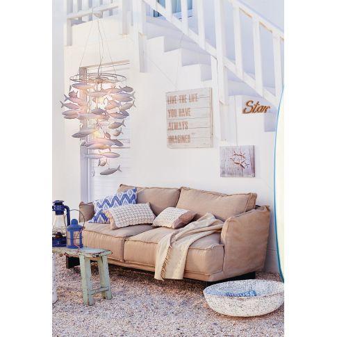 deckenleuchte mit fischen aus metall deckenleuchten lampen leuchten wohnen. Black Bedroom Furniture Sets. Home Design Ideas