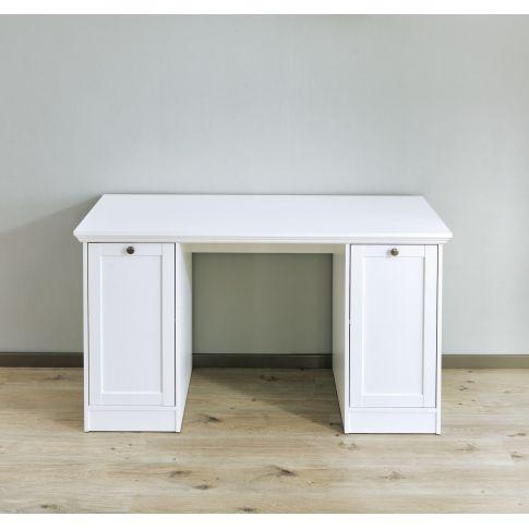 schreibtisch landwood sockelblende metallkn pfe verstellbare regalb den b ro wohnen. Black Bedroom Furniture Sets. Home Design Ideas