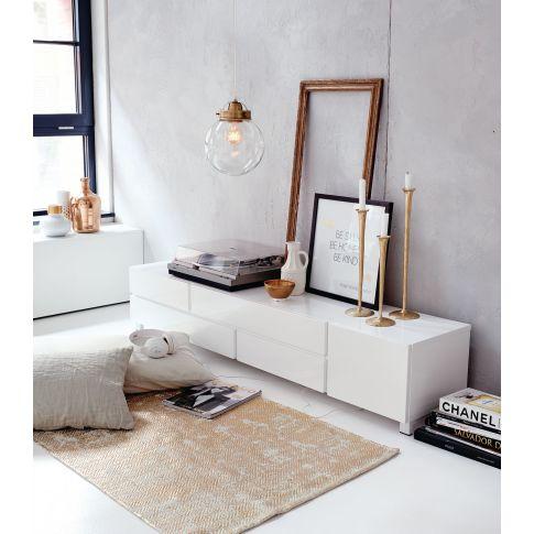 lowboard 4 schubladen 1 fach hochglanzoptik lowboards. Black Bedroom Furniture Sets. Home Design Ideas