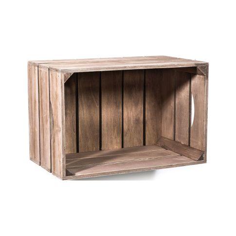 wandregal kiste ca b40 x t23 x h26 cm regale m bel wohnen. Black Bedroom Furniture Sets. Home Design Ideas