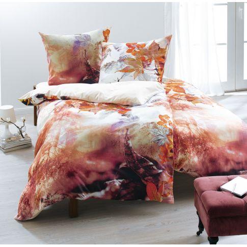bettw sche herbst mit rei verschluss baumwoll statin bettw sche wohntextilien wohnen. Black Bedroom Furniture Sets. Home Design Ideas