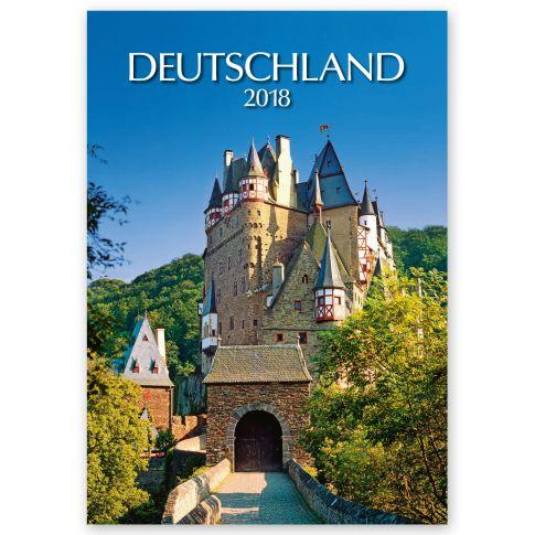 """Kalender """"Deutschland"""", ohne Druck Vorderansicht"""