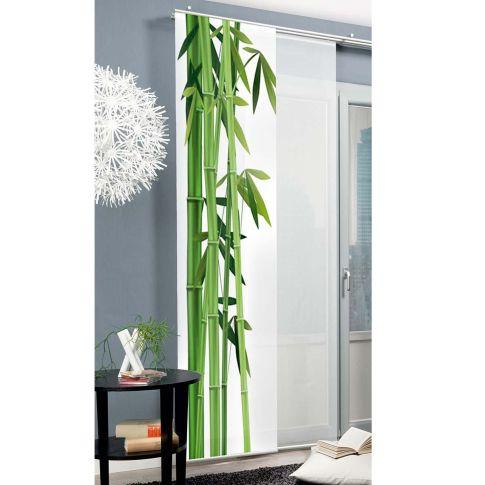 schiebevorhang fotodruck manila vorhang wohntextilien wohnen schneider de. Black Bedroom Furniture Sets. Home Design Ideas