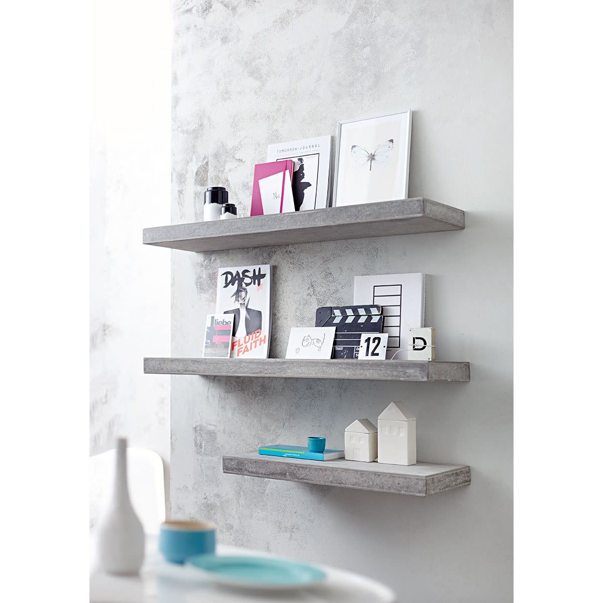 regal betonoptik bestseller shop f r m bel und einrichtungen. Black Bedroom Furniture Sets. Home Design Ideas