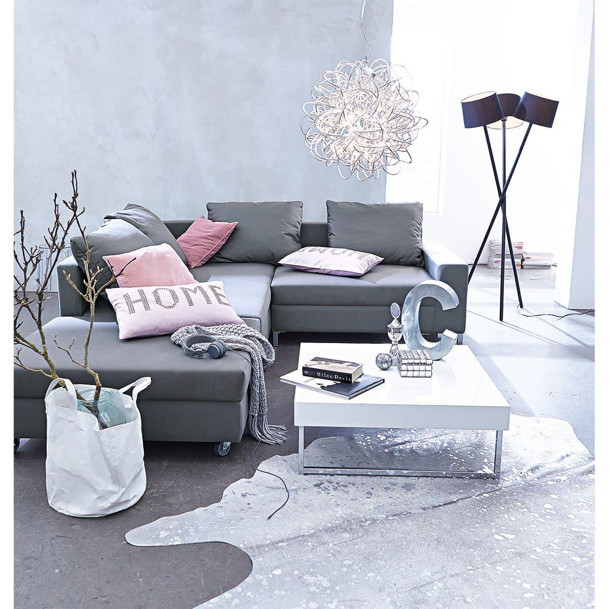 Kuhfell, Metallicperlglanz, Unikat Kuhfell Teppich Wohnzimmer