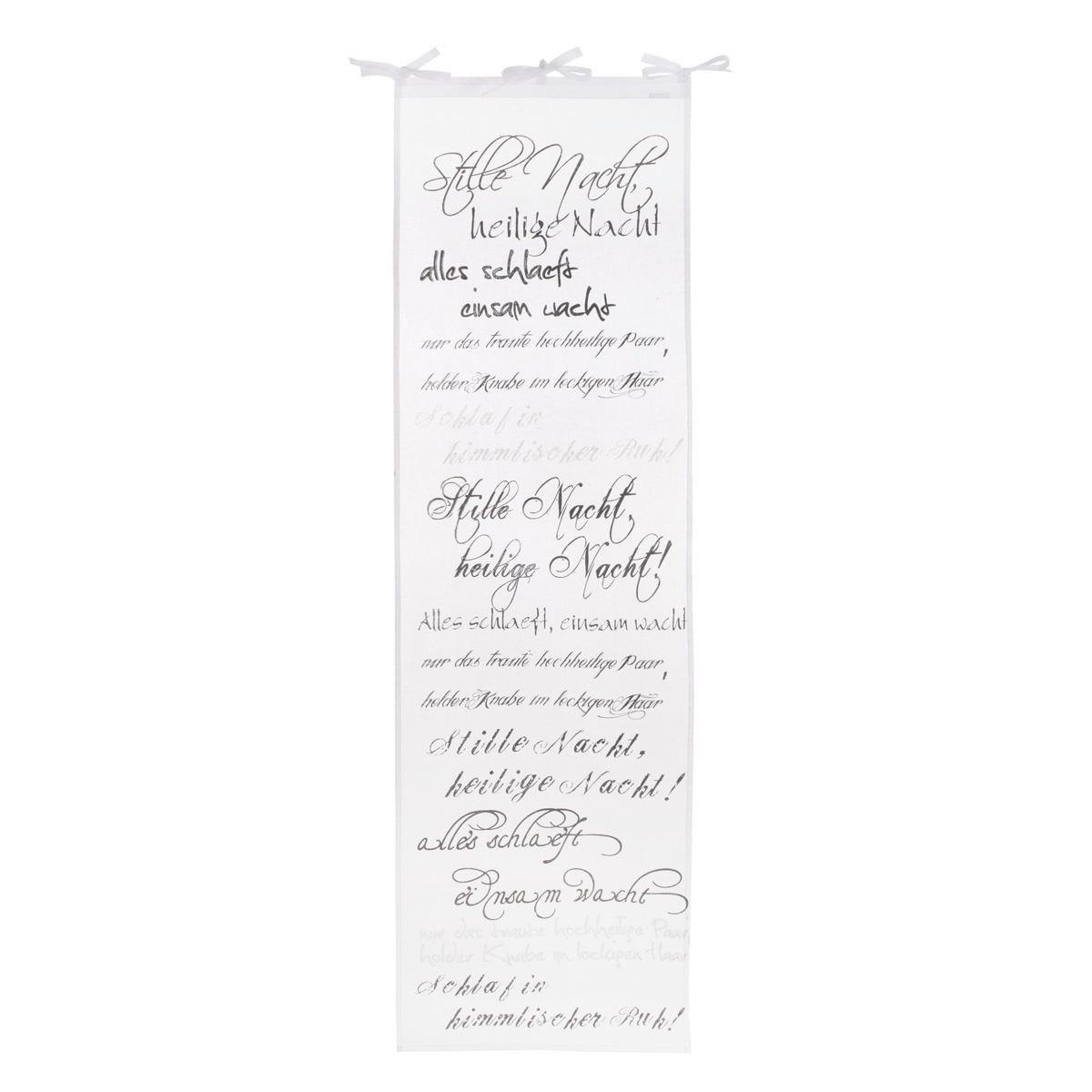 Organdy Vorhang, transparent, Baumwolle (Impressionen)
