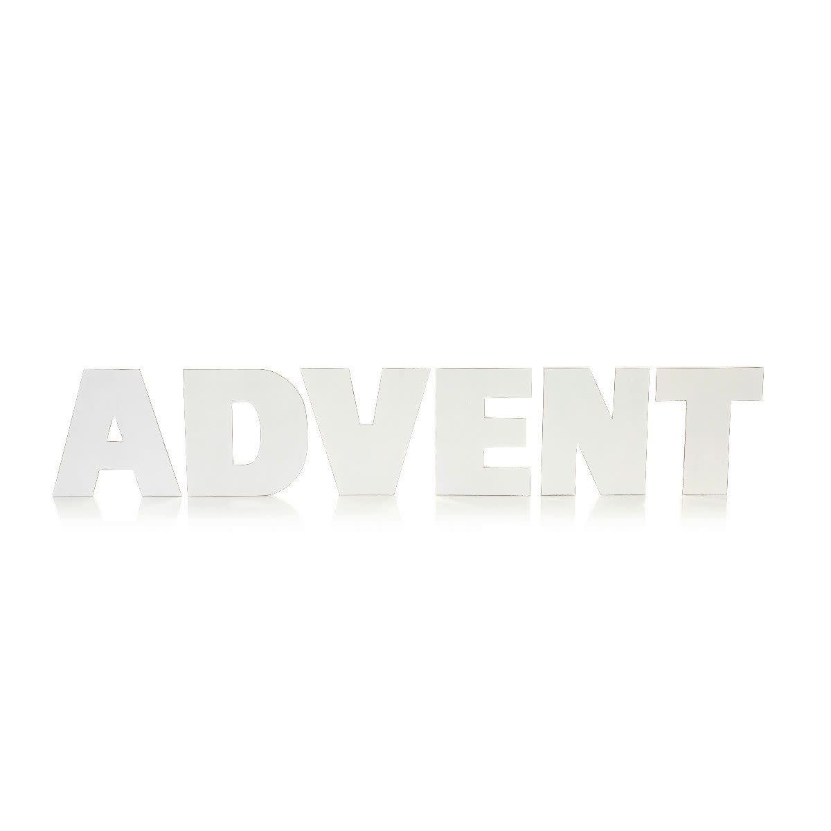 Buchstaben-Set, 6-tlg., Advent (Impressionen)